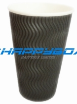Double wall paper cup- ripple / corrugated