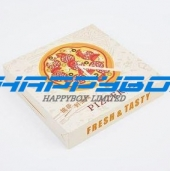 White Art Board Pizza Box